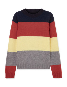 Sombrero Striped Alpaca And Wool Blend Sweater by Chinti And Parker