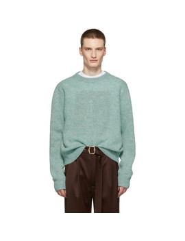 blue-kai-crewneck-sweater by acne-studios
