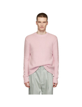 Pink Peele Sweater by Acne Studios