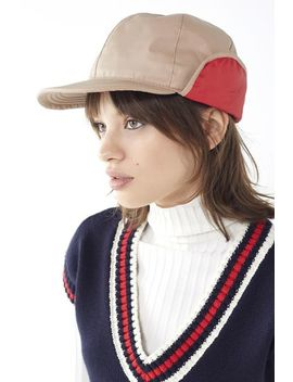 Nylon Deerstalker Hat by Urban Outfitters