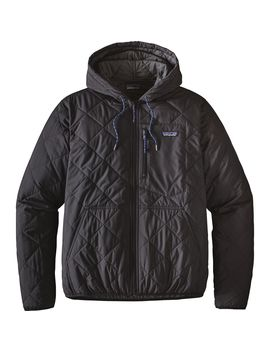Diamond Quilted Bomber Hooded Jacket   Men's by Patagonia
