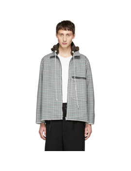 Multicolor Check Sporty Track Jacket by Camiel Fortgens