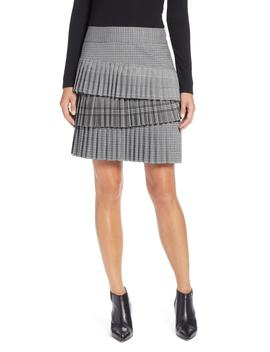 Layered Pleated Skirt by Halogen®