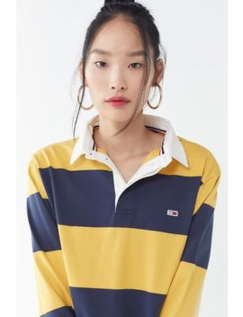 Tommy Jeans Classic Rugby Shirt by Tommy Jeans