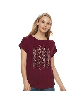 Women's Apt. 9® Embellished Tee by Apt. 9