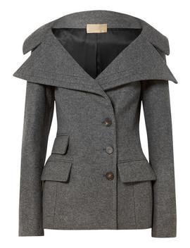 Wool Blend Felt Jacket by Antonio Berardi