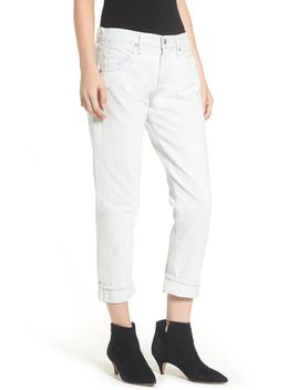 Isabel High Waist Ankle Slim Boyfriend Jeans by Agolde