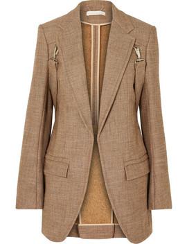 Buckled Tweed Blazer by Chloé