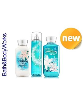 Fresh Sparkling Snow Bath & Body Works Holiday Traditions 2015 Body Lotion   Fragrance Mist   Shower Gel by Bath & Body Works