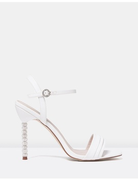 Aurora Stacked Jewelled Heels by Forever New