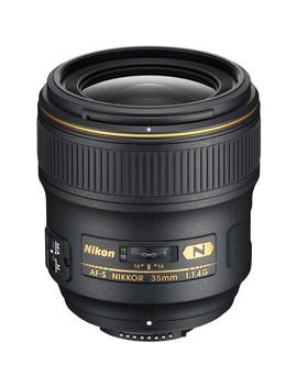 Af S Nikkor 35mm F/1.4 G Lens by Nikon