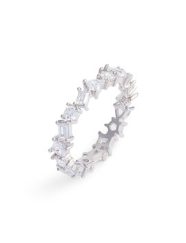 Cubic Zirconia Eternity Ring by Nordstrom