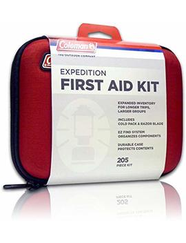 Coleman Camping First Aid Kit An All Purpose First Aid Kit For Emergencies At Home, Car, Workplace, Hiking, Or Survival, 205 Pieces by Coleman