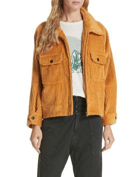 The Boxy Corduroy Jacket by The Great.