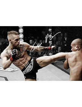 Conor Mcgregor Signed Photo Print 3   Superb Quality   12 X 8 Inches (A4) by Cx Icons