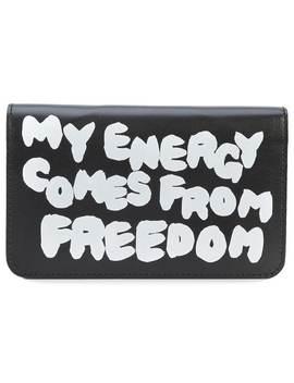 Slogan Wallet by Comme Des Garçons Wallet