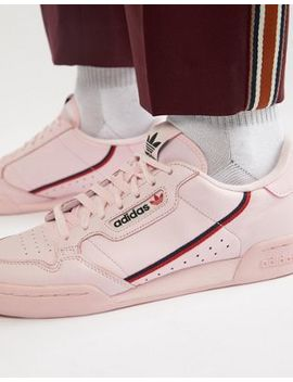 Adidas Originals Continental 80's Sneakers In Pink B41679 by Adidas Originals