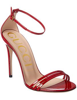 Gucci Patent Removable Latex Sock Sandal by Gucci