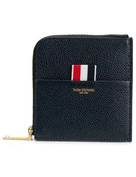 Half Zip Wallet by Thom Browne