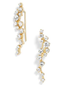 Farah Crystal Ear Crawlers by Baublebar