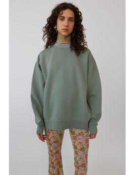 Voluminous Sweatshirt Dusty Green by Acne Studios