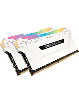 Corsair Vengeance Rgb Pro 16 Gb (2x8 Gb) Ddr4 3200 M Hz C16 Led Desktop Memory   White by Corsair