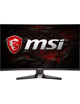 "Msi Full Hd Gaming Red Led Non Glare Super Narrow Bezel 1ms 2560 X 1440 144 Hz Refresh Rate 2 K Resolution Free Sync 27"" Curved Gaming Monitor (Optix Mag27 Cq) by Msi"