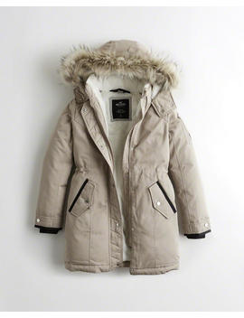 Cozy Lined Down Parka by Hollister