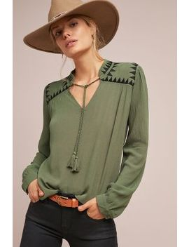 Mezze Blouse by Anthropologie