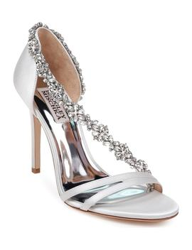 Badley Mischka Voletta Crystal Embellished Sandal by Badgley Mischka