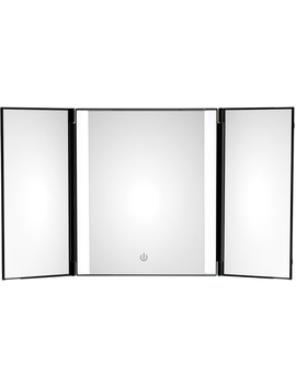 Led Lighted Tri Panel Makeup Mirror by Conair