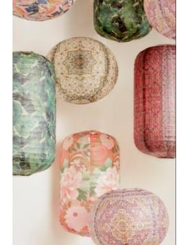 Magic Carpet Oblong Paper Shade by Urban Outfitters