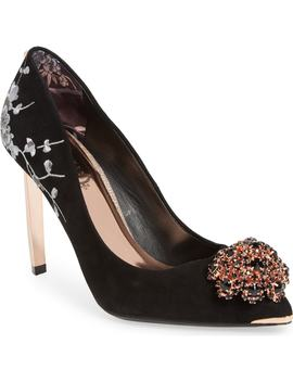 Peetchv Embroidered Pump by Ted Baker London