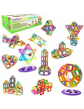 Magnetic Building Blocks Desire Deluxe Boys Magnetics Construction Block Girls Creativity Educational Toys For Childrens – Gift Box by Desire Deluxe