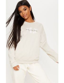 Prettylittlething Sand Sweater by Prettylittlething