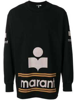 Logo Print Sweatshirt by Isabel Marant