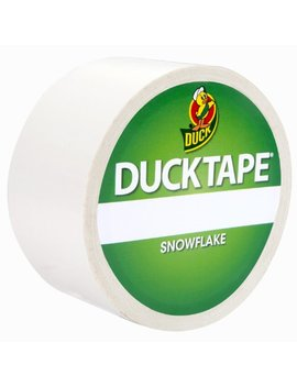 Duck Tape Solid Colours   Snowflake by Duck Tape