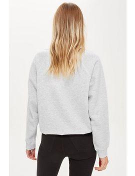 Flatlock Sweatshirt by Topshop