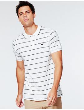 Park Wallace Polo In Off White by Hallenstein Brothers
