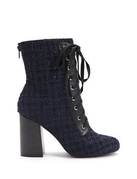 Tweed Ankle Boots by Forever 21