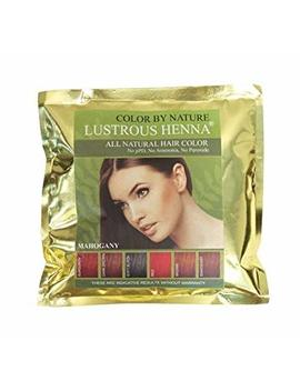 Lustrous Henna Mahogany   100 Grams by Lustrous Henna