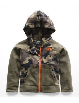 Toddler Glacier Full Zip Hoodie by The North Face