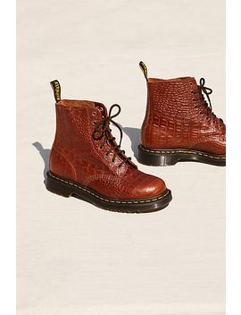 Dr. Martens Pascal Croc Boot by Free People