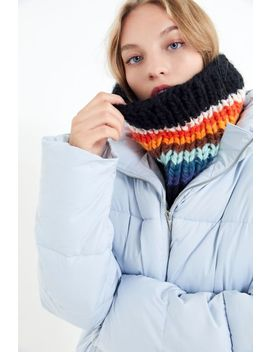 Chunky Knit Gaiter Infinity Scarf by Urban Outfitters
