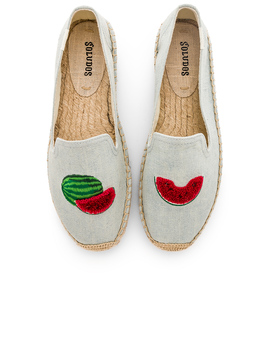 Watermelons Smoking Slipper by Soludos