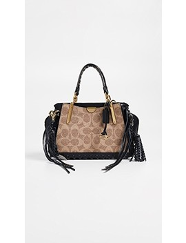 Coated Canvas Signature With Whipstitch Dreamer 21 Bag by Coach 1941