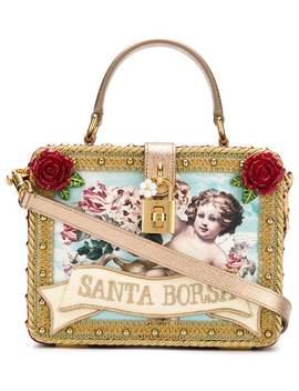 Santa Borsa Box Tote by Dolce & Gabbana