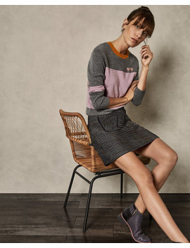 Cashmere Colour Block Jumper by Ted Baker