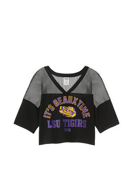 Louisiana State University Athletic Mesh Tee by Victoria's Secret
