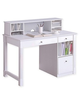 Forest Gate Deluxe Wood Computer Desk With Hutch by Bed Bath And Beyond
